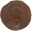 2 Stuivers - Emergency coinage – reverse