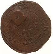 4 Stuivers - Emergency coinage – obverse