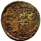1 Oord - Johann II – reverse