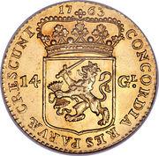 14 Gulden – reverse