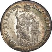 3 Gulden – reverse
