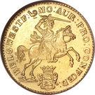 """14 Gulden """"Gouden rijder"""" – obverse"""