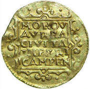 Ducat (Overijssel, Trade coinage) – reverse