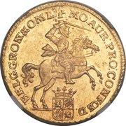 7 Gulden (Groningen & Ommeland) – obverse