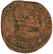 1 Oord - Maurits – obverse