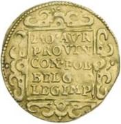 Double ducat – reverse