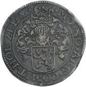 Gehelmde Rijksdaalder (Prinsendaalder) – reverse