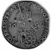 1 Silver Ducat Utrecht – obverse