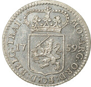 ¼ Gulden – obverse