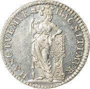 ¼ Gulden – reverse