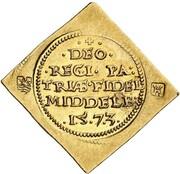1 Crown (Siege of Middelburg - Gold Klippe) – obverse