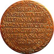 Token - Capture of Breda 1590 – reverse