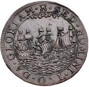 Token - Defeat of the Counter Armada 1589 – reverse