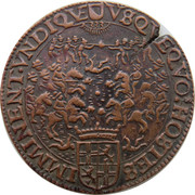 Token - 30 year war (Conflict Spain United Provinces) – obverse