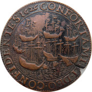 Token - 30 year war (Conflict Spain United Provinces) – reverse