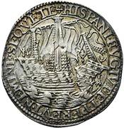 Token - Defeat of the Spanish Armada – reverse