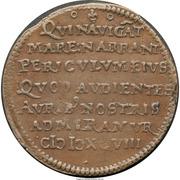 Medal - Dutch American Voyages Jeton – reverse