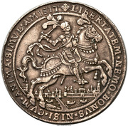 2 Ducaton - Overyssel - Victory of Prince Mauritz at Turnhout – obverse