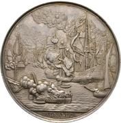 Medal - Death of admiral Michiel de Ruyter – reverse