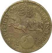 Medal - Capture of the Spanish galleon San Iago – obverse