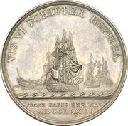 Medal - Naval action off Cadiz – obverse