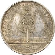 Medal - Naval action off Cadiz – reverse