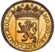 3 Gulden (pattern) – obverse