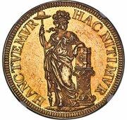 3 Gulden (pattern) – reverse