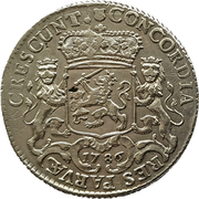 ½ ducaton Utrecht – reverse