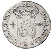 ½ 3 Gulden – reverse