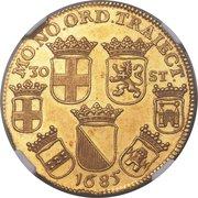 Daalder of 30 Stuivers (Pattern - Gold) – obverse