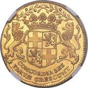 Daalder of 30 Stuivers (Pattern - Gold) – reverse