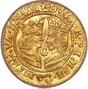 1 Ducat - Ferdinand & Isabella – obverse