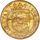 1 Dukaat - Ferdinand & Isabella – reverse