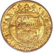 1 Ducat - Ferdinand & Isabella – reverse