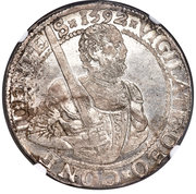 Rijksdaalder Thaler - Willem I – obverse