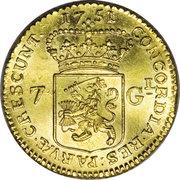 7 Gulden – reverse