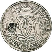 1 Gulden - Johann Franz – reverse