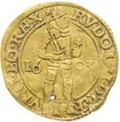 1 Dukaat - Rudolf II – reverse