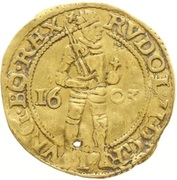 1 Ducat - Rudolf II – reverse