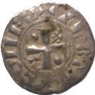 Denier au Peigne ou Provinois - Thibaut II – obverse