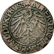 1 Groschen - Albrecht  of Prussia – reverse