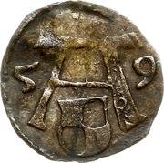 1 Pfennig - Albert de Brandebourg – obverse