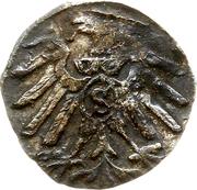 1 Pfennig - Albert de Brandebourg – reverse
