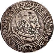 6 Gröscher - Albrecht von Hohenzollern – obverse