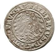 1 Schilling - Albrecht von Hohenzollern – reverse