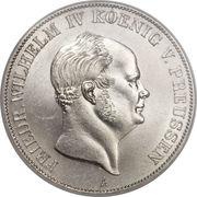 2 Vereinsthaler - Friedrich Wilhelm IV – obverse