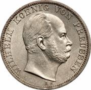 1 Vereinsthaler - Wilhelm I – obverse