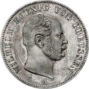 """1 Thaler - Wilhelm (""""Mining Thaler"""") – obverse"""