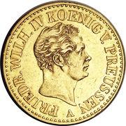 2 Friedrich d'Or - Friedrich Wilhelm IV – obverse